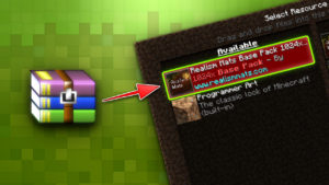 How to install a Minecraft texture pack